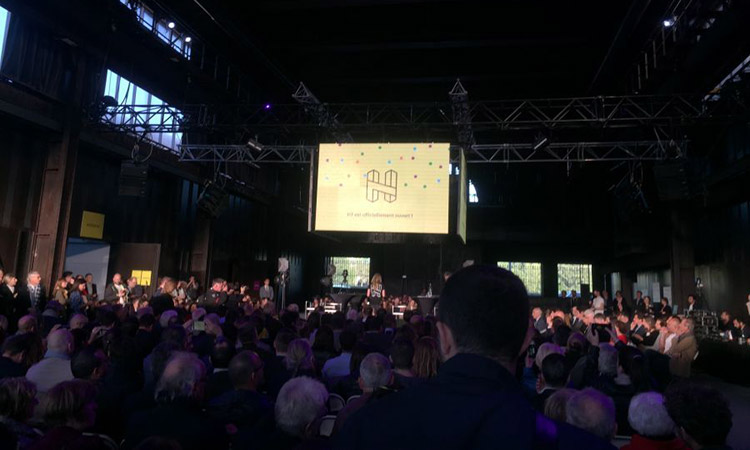 """Enza Consulting: Opening ceremony for """"H7"""" in Lyon, the gigantic business incubator"""
