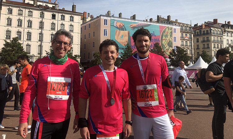 Enza Consulting: Run in Lyon